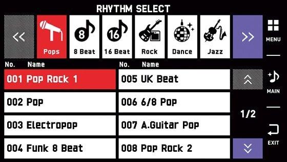 Powerful rhythms