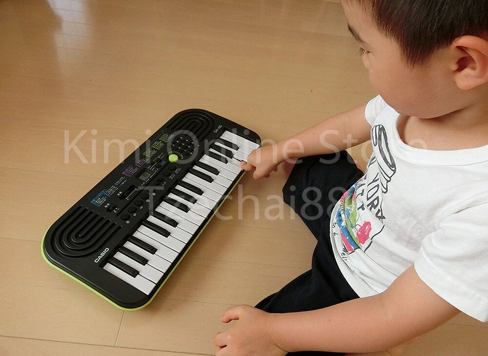 32 Key Mini Electronic Keyboard Piano Organ 2 Digit LCD Display 8 Note Polyphony 100 Tones 50 Patterns 10 Song One Touch Switch