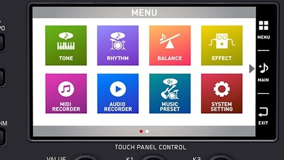 Color Touch LCD