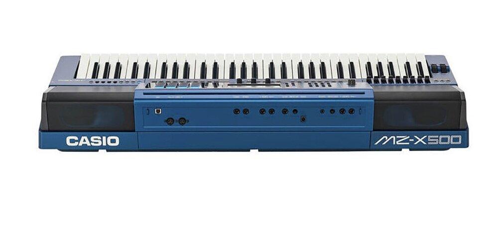 61 Key Casio MZ-X500 Electronic Keyboard Piano Organ 1100 Preset Tones HEX Layer 330 Rhythms Color Touch LCD XY-Graph Parametric EQ Drabar Organ Real Time