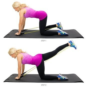 resistance band glute kickbacks, resistance band exercises, resistance bands, best resistance band exercises, best resistance band workouts, resistance band workouts, resistance bands exercises, resistance bands workouts, resistance band workout, resistance band training
