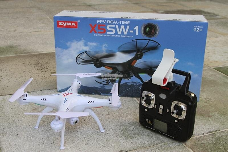 Original Syma X5SW Drone 2.4GHz Real Time WiFi FPV 6 Axis Quadcopter