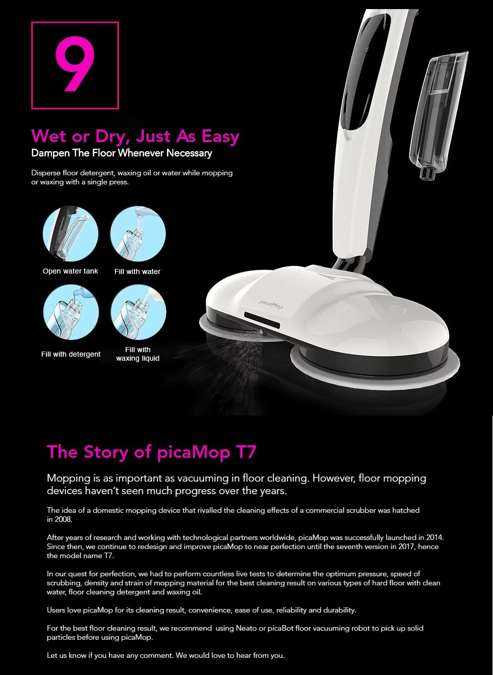 Pre Order Picamop T7 The Best Electric Cordless