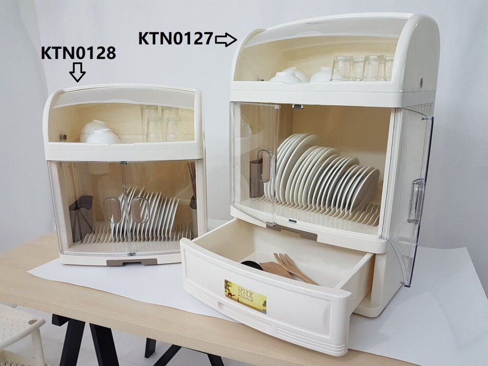 high quality plastic dish cabinet kitchen rack with cover and chopstic alpha living. Black Bedroom Furniture Sets. Home Design Ideas