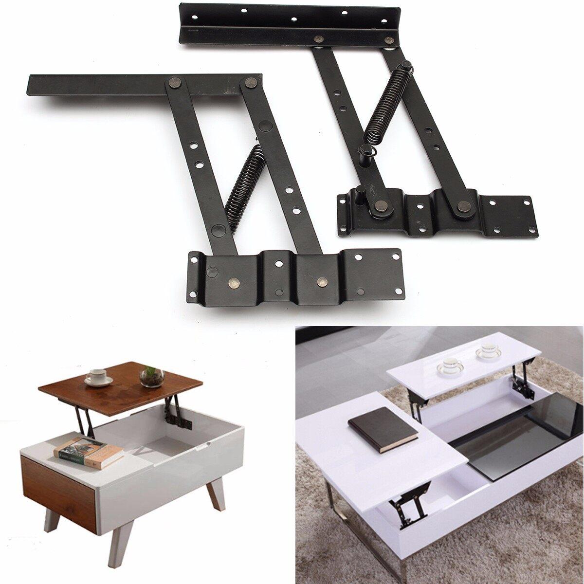 Lift Top Coffee Table Mechanism.2pcs Lift Up Top Coffee Table Lifting Frame Mechanism Spring Hinge Har