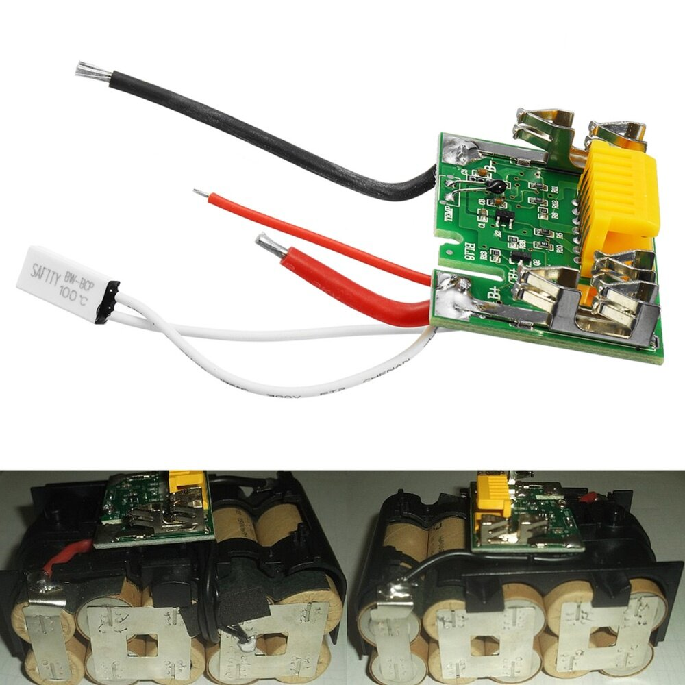 Buy Universal 18v Pcm Pcb Li Ion Lithium Battery Protect Circuit Protection Board Products Control Chip For Electric Tools Its Main Function To Are Over Charge Discharge