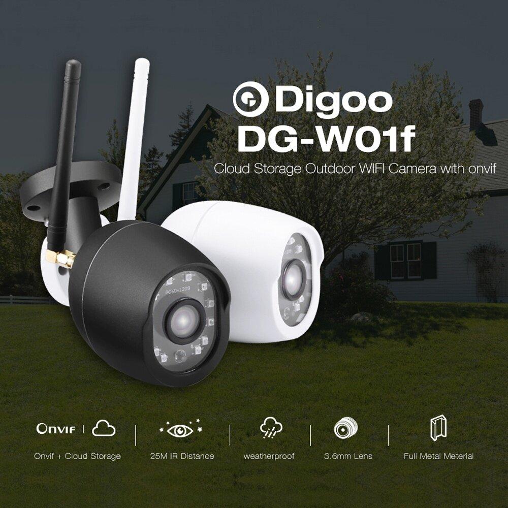 Generic Digoo DG-W01f 720P Cloud Storage Waterproof Outdoor