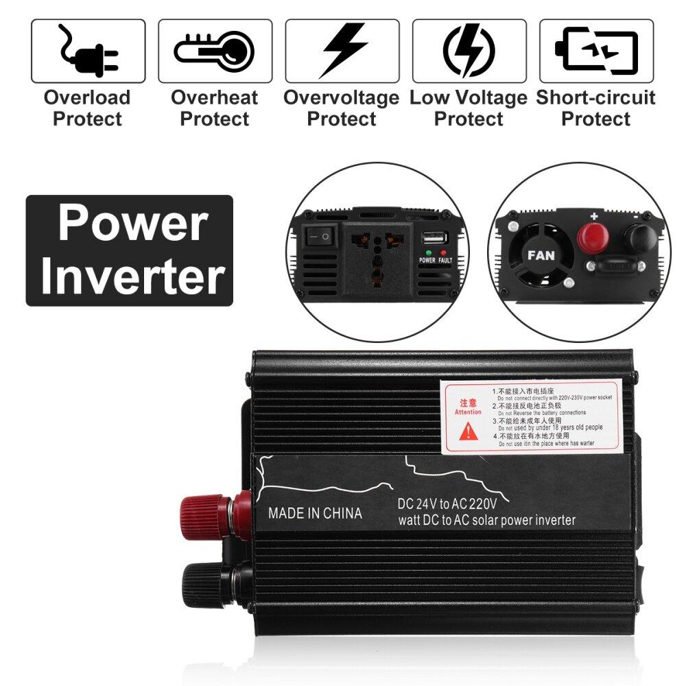 Buy Generic Solar Power Inverter 3000w Led 24v Dc To 220v Ac Sine Circuit Image