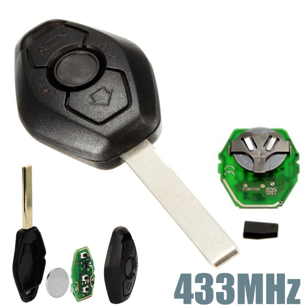 Generic 4pcs 433MHz Keyless Entry Remote Key Fob Transmitter Clicker