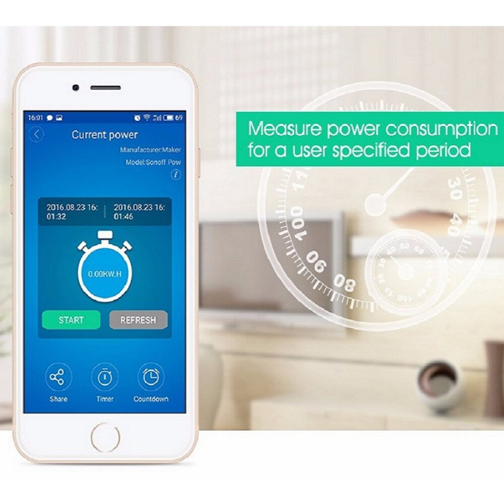 Generic Smart Home Wireless Intelligent Control Module