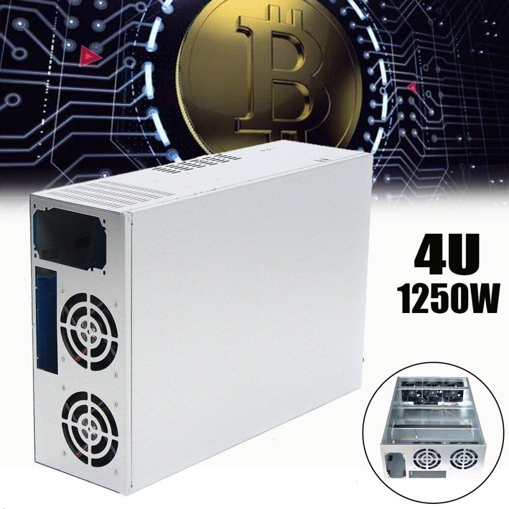 Buy Generic 6/8 GPU 1250W 4U Miner Coin Open Air Mining Rig
