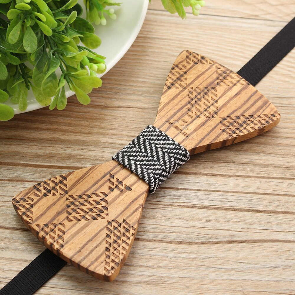 Buy Fashion Wooden Bow Tie Novelty Mens Gifts Wedding Wood Diagram Key Features Product Name Model