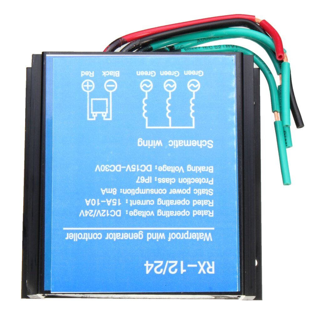 Buy Generic 400w 24v Direct Wind Controller With Manual Brake For 24 Volt Turbine Wiring Diagram Image