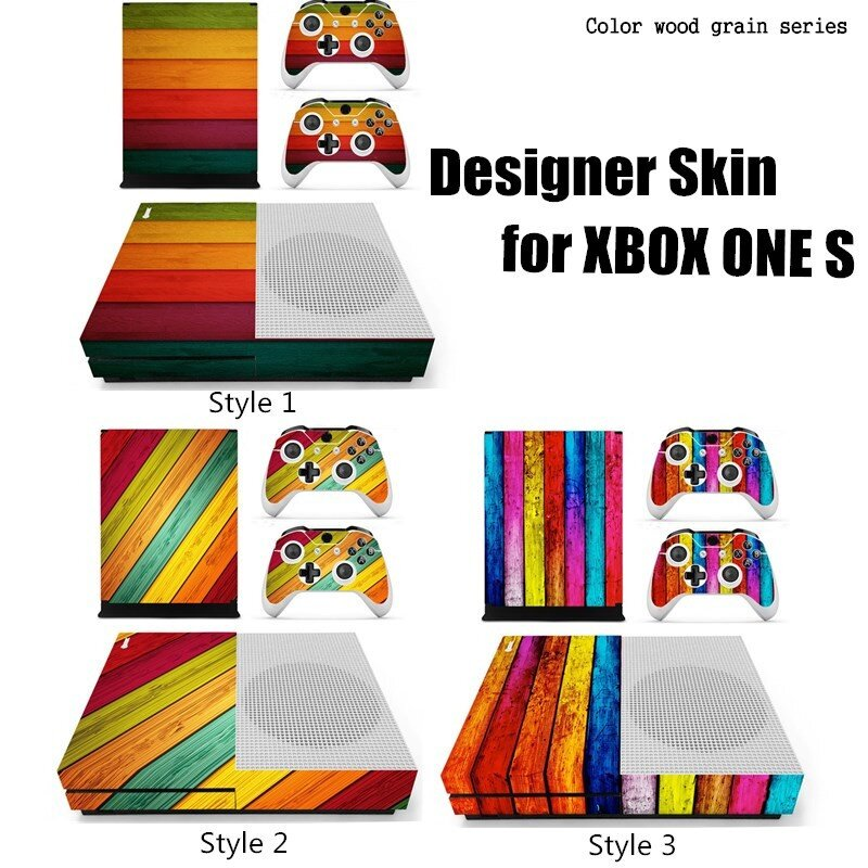 Buy Generic Designer Skin for XBOX ONE S Gaming Console+2