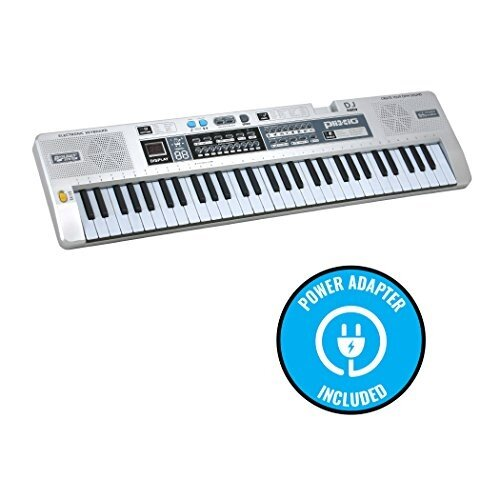 ffe6974c5b4 Product Description. 61 Key Electronic Music Keyboard. Master piano  fundamentals with Plixio s digital ...