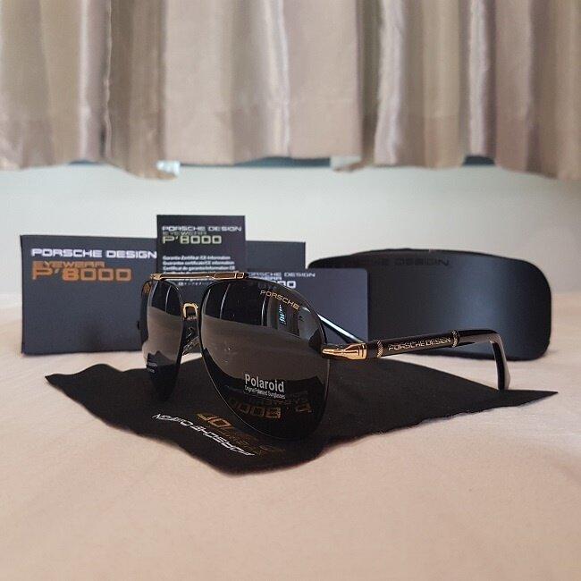 a6d163cac5 PORSCHE Pilot Men Anti UV400 Polarized Sunglasses